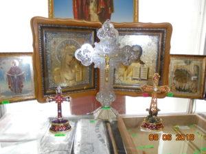 православные настольные металлические кресты