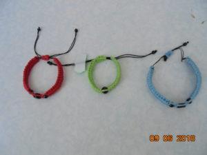 браслеты Спаси и сохрани вязаные детские