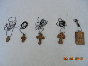 православные нательные кресты самшитовые, кипарисовые