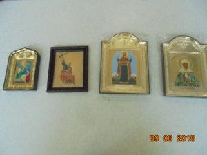 иконы в пластиковых рамах