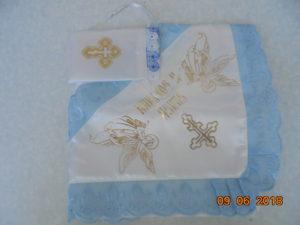Наборы для венчания, крещения, рушники, православные крестильные наборы