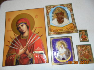 иконы, литографии