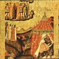 Видение хану Пресвятой Богородицы