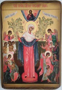 Чудотворная икона Божией Матери Всех скорбящих Радость