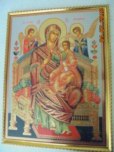 Чудотворная  икона  Божией  Матери  Всецарица