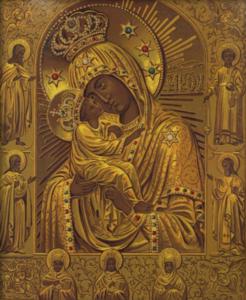 Точная копия Почаевской иконы