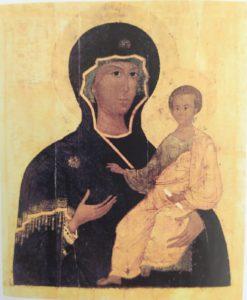 Список с чудотворной Смоленской иконы