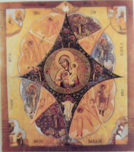 """Список  с  чудотворной  иконы  """"Неопалимая  Купина"""""""
