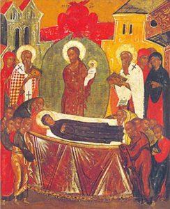 Овиновская икона Успения  Пресвятой  Богородицы