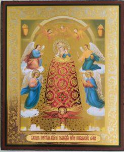 Икона  Божией  Матери  Подательница  ума