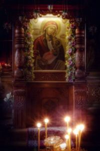 Чудотворная икона Божией Матери Утоли моя печали
