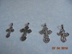 Кресты черненые разные