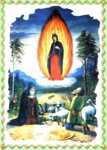 Явление Богородицы на Почаевской горе в 1240 году