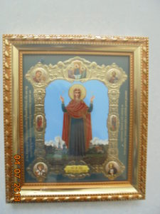 православные чудотворные иконы Божией Матери , икона Нерушимая стена