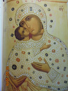 Чудотворная икона Божией Матери Умиление