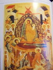 Икона Успения Пресвятой Богородицы, Успение Богородицы - отдание праздника