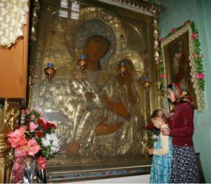 Старорусская икона выносная