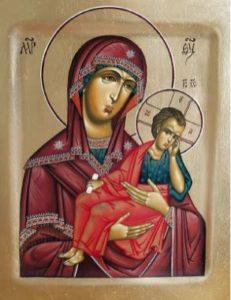 современный список Старорусской иконы