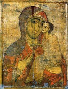 Древняя Старорусская икона