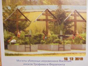 Могилы оптинских новомучеников