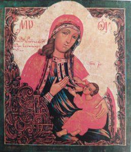 Барловская  икона  Божией  Матери