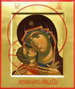 Девпетерувская икона Божией Матери
