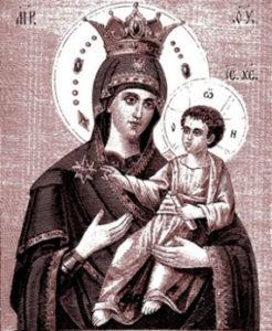 Ктиторская икона в Почаевской лавре