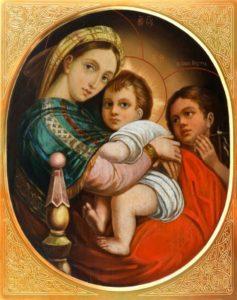"""Картина Рафаеля """"Святое семейство"""""""