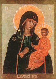 Икона Божией Матери Благоуханный Цвет