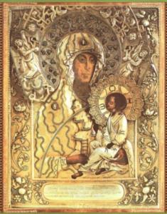 Молченская икона из Софрониевой пустыни