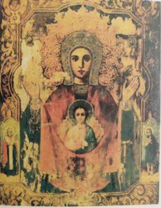 Абалацкая икона  Божией  Матери  17 век