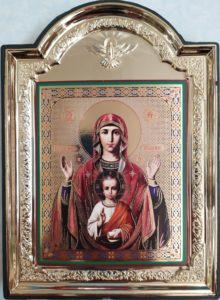 Чудотворная икона Божией Матери Знамение