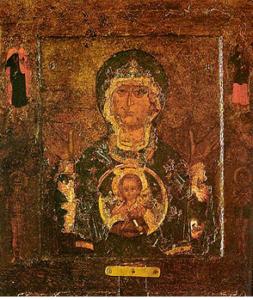 """икона """"Знамение"""" Новгородская"""