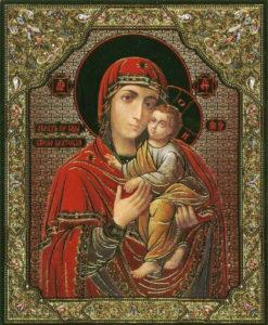 Киево - Братская икона Божией Матери