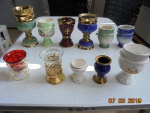 Настольные  лампады,  керамические  и  стеклянные