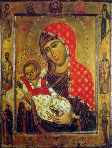 Икона Божией Матери Недремлющее око