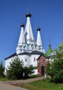 Успенская  Дивная  церковь  Угличского Алексеевского монастыря