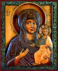 Влахернская икона Божией Матери