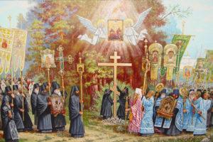 Сретение Седмиезерной иконы в Казани