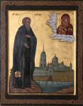 Обретение  мощей  преподобного  Нила  Столобенского