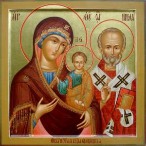 Оковецкая Ржевская икона Божией Матери