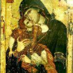 Икона  Богородицы  Сладкое  лобзание