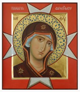 Современный  список  Филермской иконы
