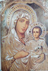 Иерусалимская икона в Гефсимании
