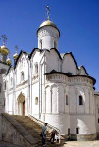 Ризоположенский храм Московского Кремля