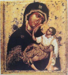 Словенская икона Богородицы