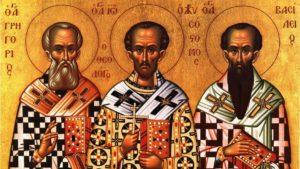 Три святителя