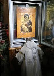 Красногорская  Владимирская  икона