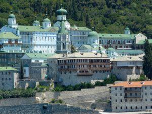 Свято-Пантелеймоновский монастырь на Афоне