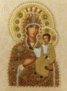 Самонаписавшаяся икона Богородицы